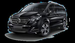Black Mercedes V class